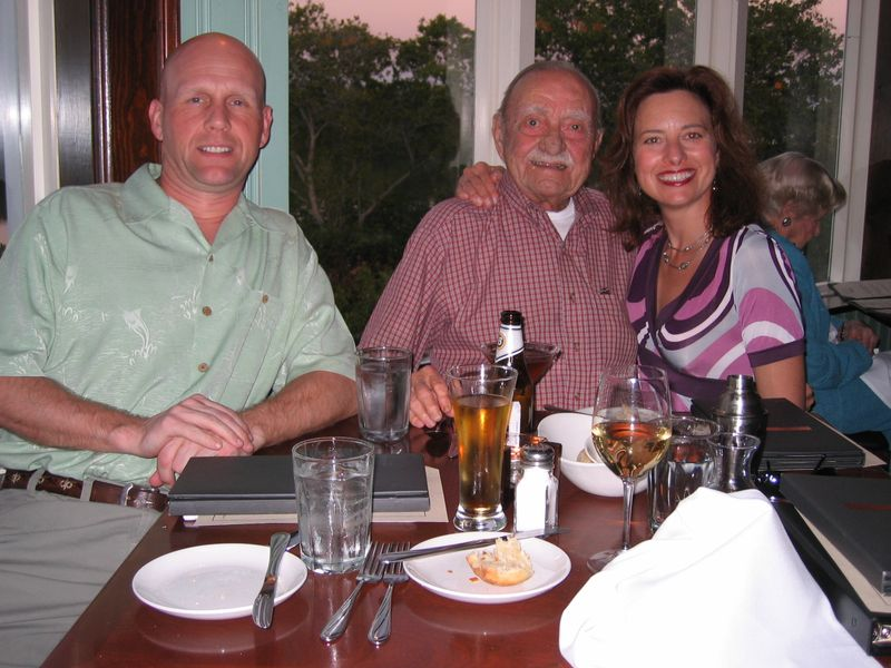 Lisa Magnus & Dad Jan 2008