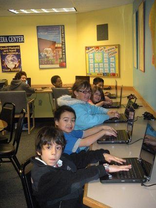 Boys & Girls Club laptops 2011