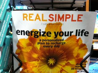 Energize Your Life RealSimple cover