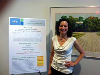 Lisa GenRe Book Signing May 2011