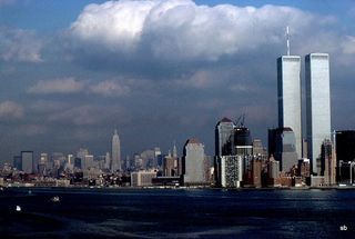 Twin towers photo