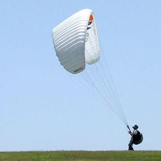 Inline-inertia-parasail