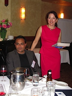 Jignesh Shah and Lisa Nirell wine reception 2013