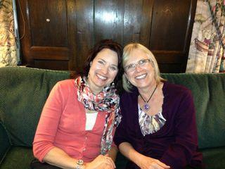 Jill Konrath and Lisa June 17 2013 MN