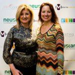 Lisa & Arianna Huffington-1