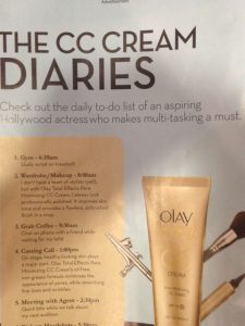 Olay's idea of a successful actress: a highly effective multi-tasker.