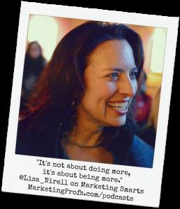Lisa Nirell Marketing Smarts Podcast Promo