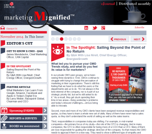Marketing Magnified Article with Lisa Nirell
