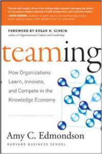 Book cover image of Teaming by Amy Edmondson