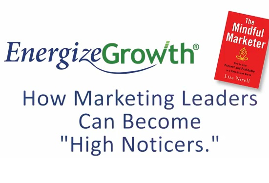 How Marketing Leaders Can Become High Noticers Video Start Screen