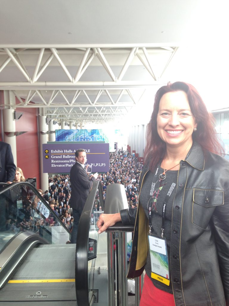 Marketing expert Lisa Nirell at the 2015 Adobe Summit