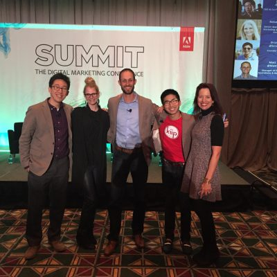Lisa Nirell with Millennial Marketing panelists at Adobe Summit 2015
