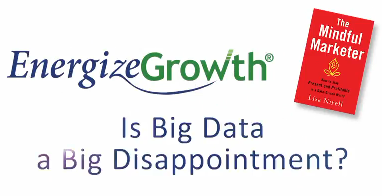 Start screen for Is Big Data a Big Disappointment video