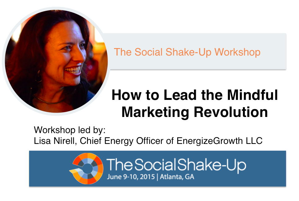 How to Lead the Mindful Marketing Revolution Workshop
