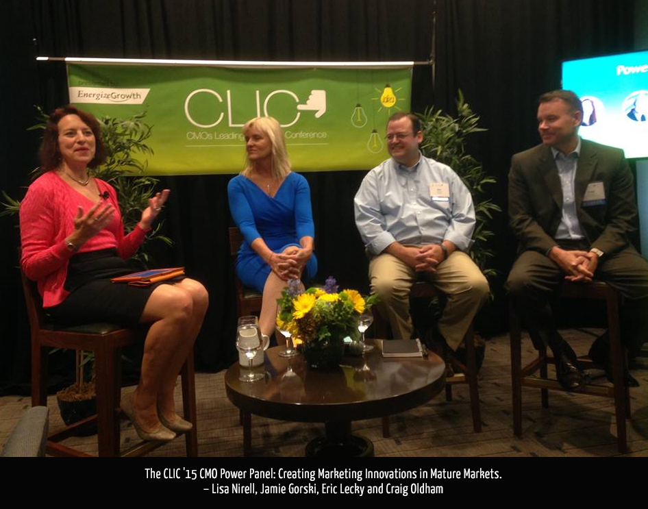 The CLIC '15 Power Panel: Creating Marketing Innovations in Mature Markets