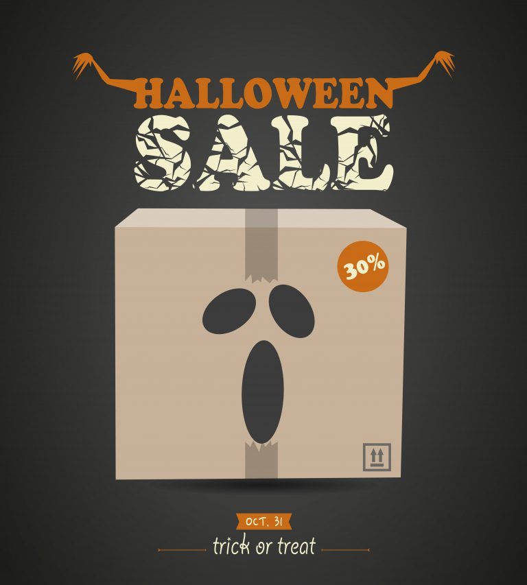 Halloween Shopping Card