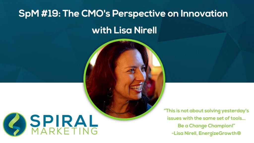 Lisa Nirell CMO Innovation