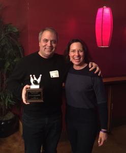 MO Group Event Awards John Saaty and Lisa Nirell