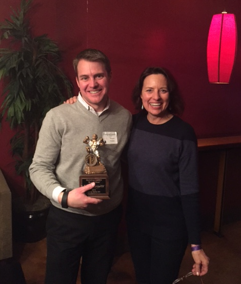 CMO Group Event Awards Rob Caskey and Lisa Nirell