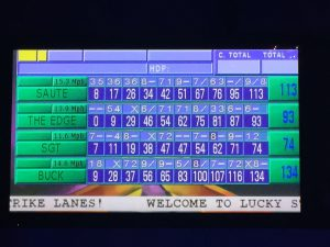 CMO Group Event Bowling Scoreboard
