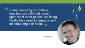 Mark Levy innovation quotes Lisa Nirell