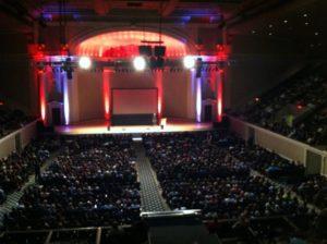 DAR Constitution Hall, Washington DC. Photo courtesy of Lisa Nirell.