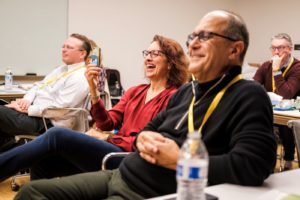A lighter moment from the CMOs Leading Innovation Conference 2019